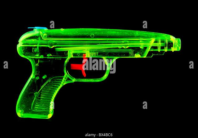 Water Gun - Stock Image