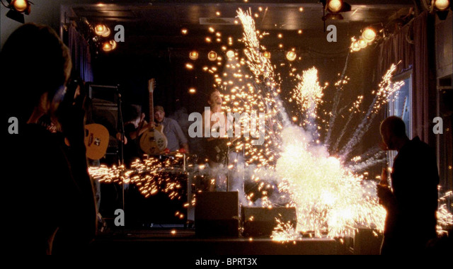 EXPLOSION AT GIG WRISTCUTTERS: A LOVE STORY (2006) - Stock Image