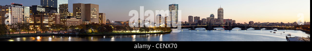 Buildings at the waterfront, Charles River, Boston, Massachusetts, USA - Stock-Bilder