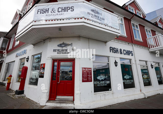 Fish and chips restaurant stock photos fish and chips for Fish chips restaurant