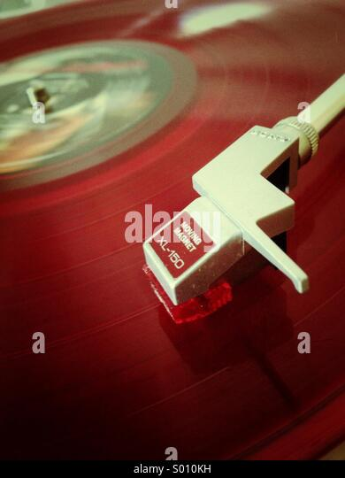 Vintage record player - Stock-Bilder