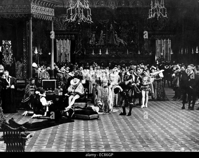 Still from the silent movie 'Intolerance' - Stock-Bilder