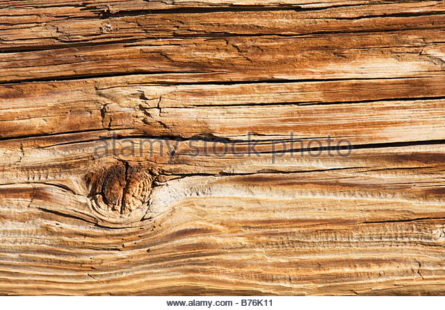 Natural texture weathered wood - Stock Image