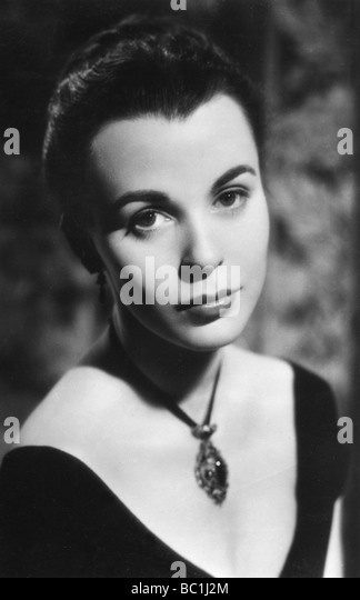 Claire Bloom, English film, stage and television actress, c1947-1955(?). - Stock Image