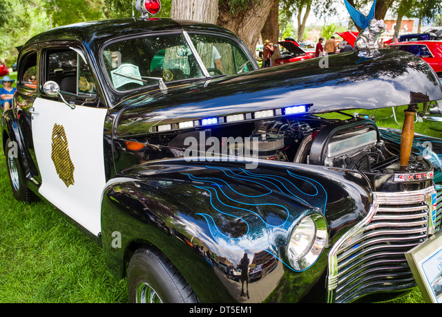 classic police car stock photos classic police car stock. Black Bedroom Furniture Sets. Home Design Ideas