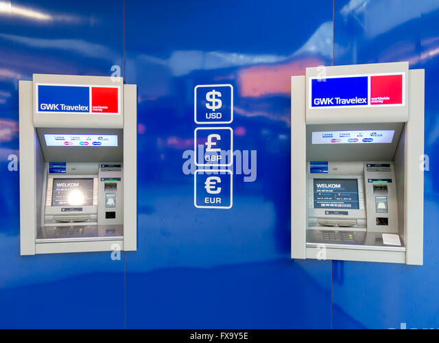 currency exchange atm machine