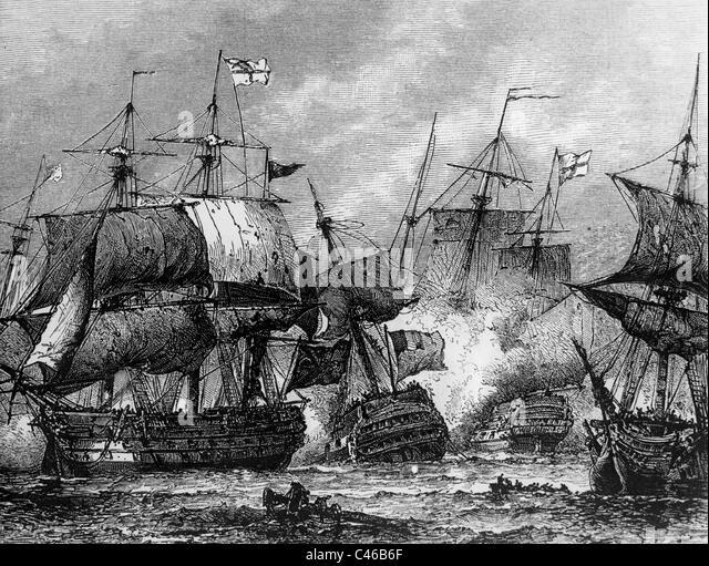 Battle of the Nile - Stock Image