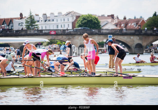 Henley Royal Regatta, Oxfordshire, UK 2015 - Stock Image