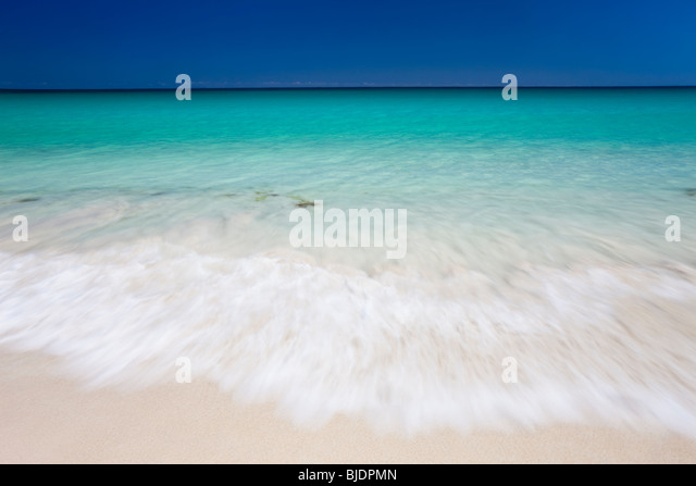 Indian Ocean nr Margaret River, Western Australia, Australia - Stock Image