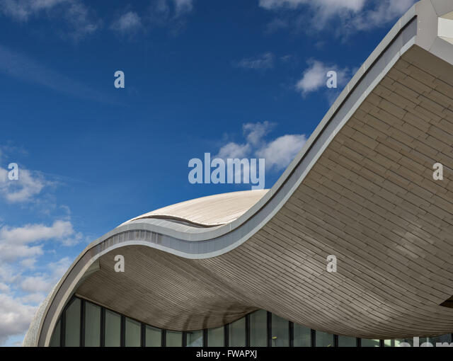 Slough Bus Station designed by Bblur Architecture - Stock Image