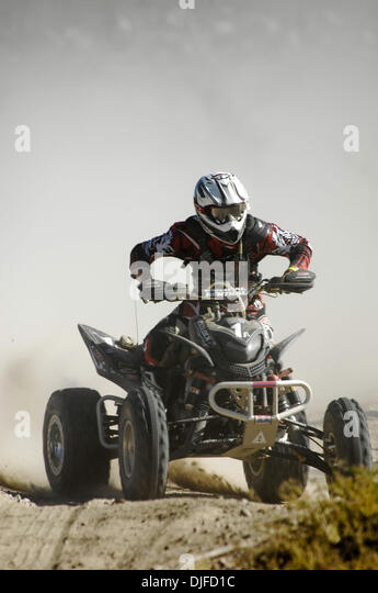 Jun 05, 2010 - Ensenada, Baja Norte, Mexico - WAYNE MATLOCK rides to first in Class 25 in the 42nd Tecate SCORE - Stock Image