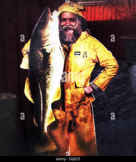 Fisherman - Stock Image