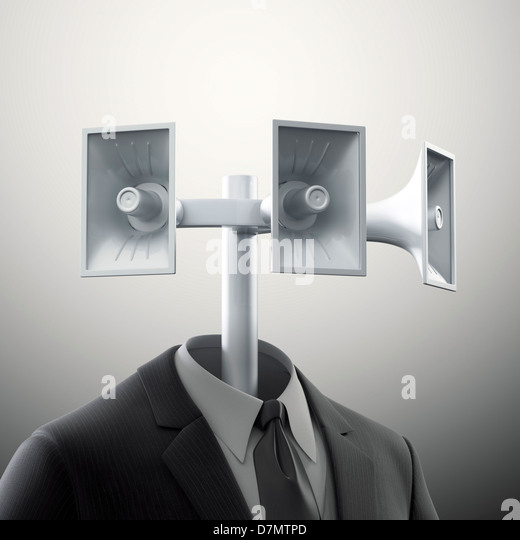 Communication, conceptual artwork - Stock Image