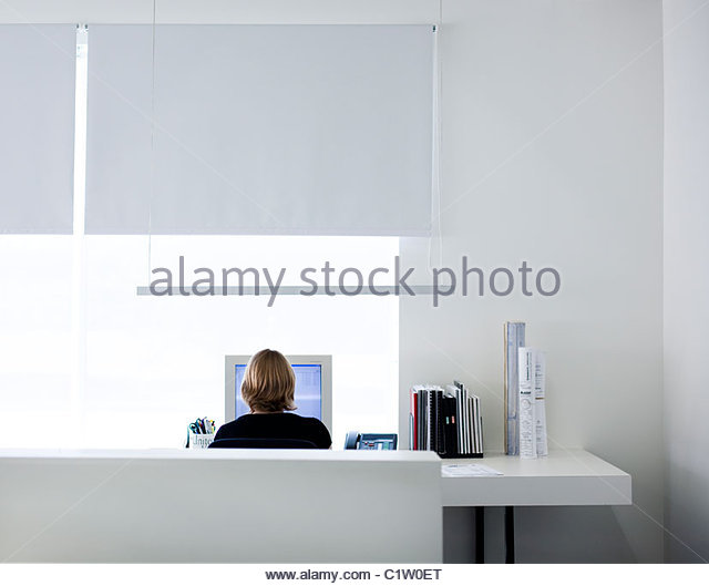 Contemporary  office. - Stock Image