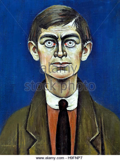 Self Portrait 1938 Laurence Stephen ('L.S.') Lowry (1887-1976), England English - Stock Image