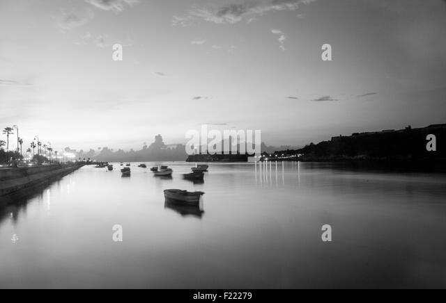 Habana's pier, Cuba - Stock Image