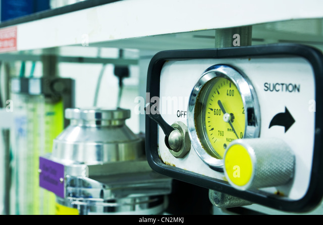 Scientific dial - Stock Image