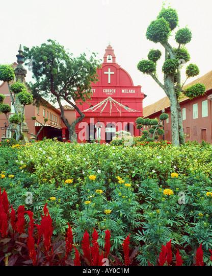 Catholic church in Malacca, Malaysia - Stock-Bilder