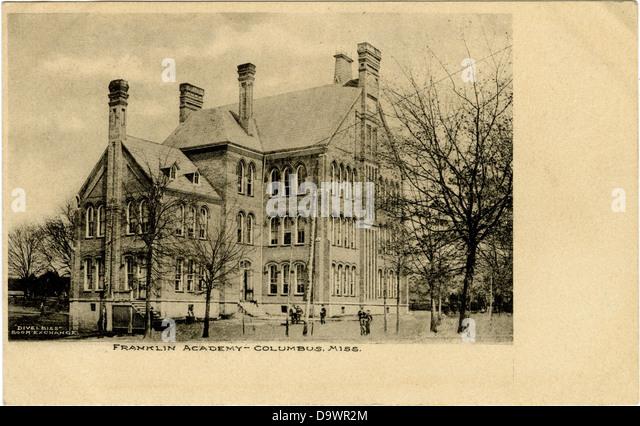 Franklin Academy, Columbus, Miss. - Stock-Bilder