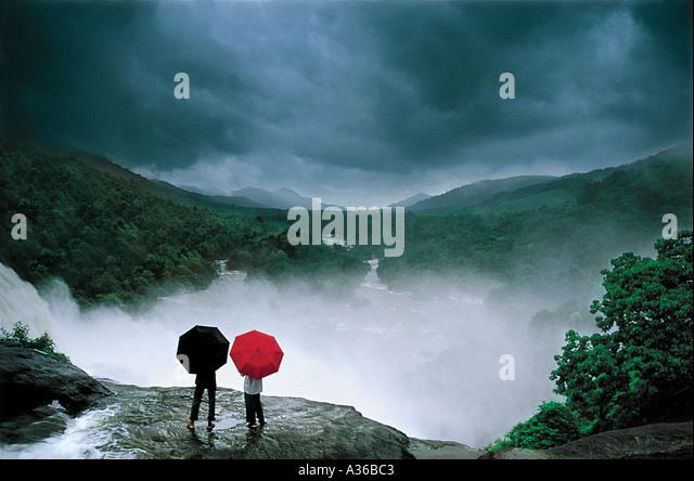 Monsoon moods - Stock Image