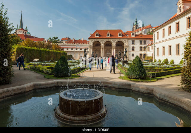 Senate palace stock photos senate palace stock images for Jardin wallenstein prague