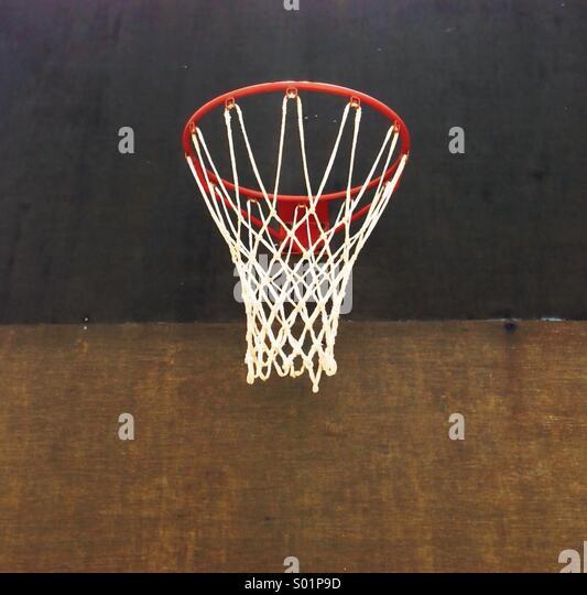 Basketball Net - Stock Image