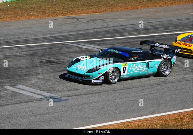 Ford GT GT3, Brazilian Racing Cup, Nelson Piquet Autodrome, Brasilia, Brazil - Stock Image