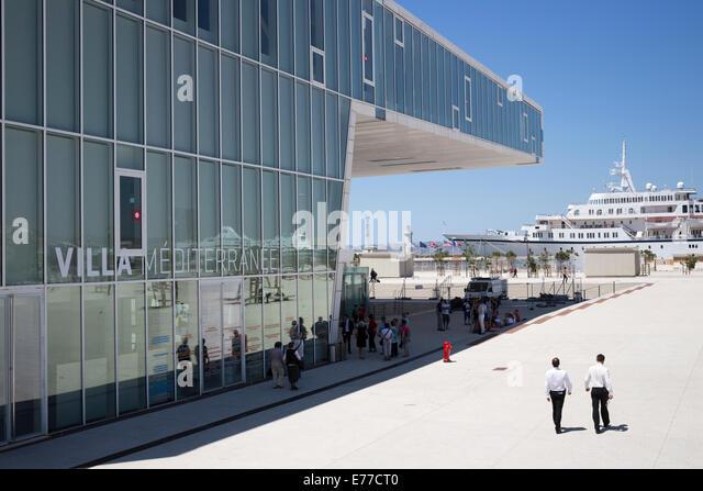 Museum of European and Mediterranean Cultures in Marseilles France - Stock-Bilder