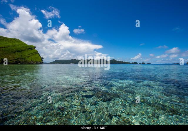 Raja Ampat archipelago, West Papua, Indonesia, New Guinea, Southeast Asia, Asia - Stock Image