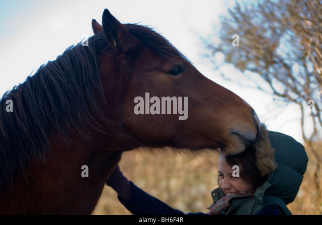 Dating a woman with a horse
