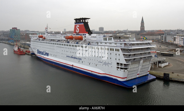 Kiel Harbour, Kiel, Germany - Stock Image