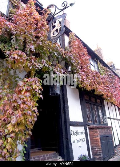Mermaid Inn Rye Sussex UK - Stock Image