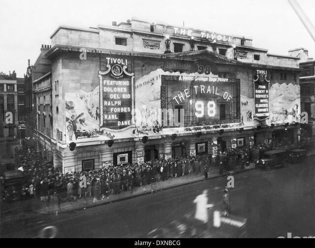 The TIVOLI CINEMA, The Strand, London Photograph taken on Tu - Stock-Bilder