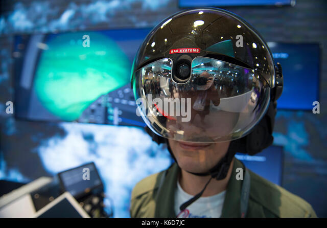 ExCel, London, UK. 12th Sep, 2017. Defence and Security Equipment International (DSEI), the worlds leading global - Stock Image