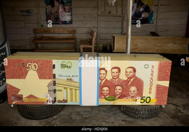 Casket design for the death in Ghana, - Stock Image