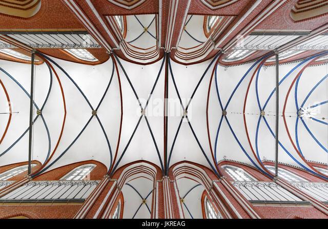 Muenster, cathedral,  Bad Doberan, Mecklenburg-Vorpommern, - Stock Image