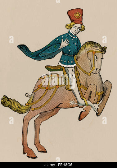 Canterbury tales the squire love and