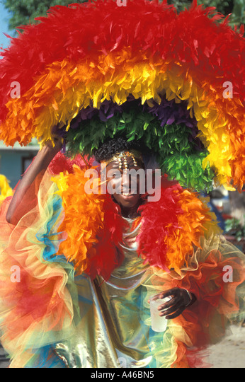 St Maarten Carnival - Stock Image
