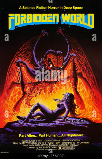 FORBIDDEN WORLD, U.S. poster, 1982. ©New World Pictures/courtesy Everett Collection - Stock Image