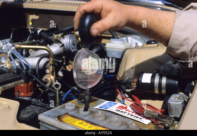 Checking Car Battery Specific Gravity