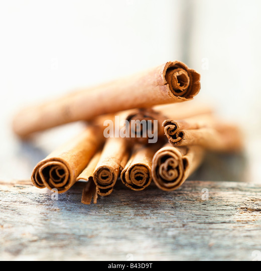 Sticks of cinnamon - Stock Image