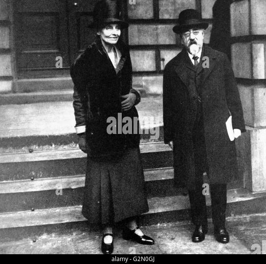 Sidney James Webb and Beatrice Webb 1929 - Stock Image
