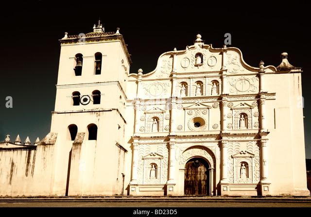 Cathedral of Comayagua, Honduras - Stock-Bilder