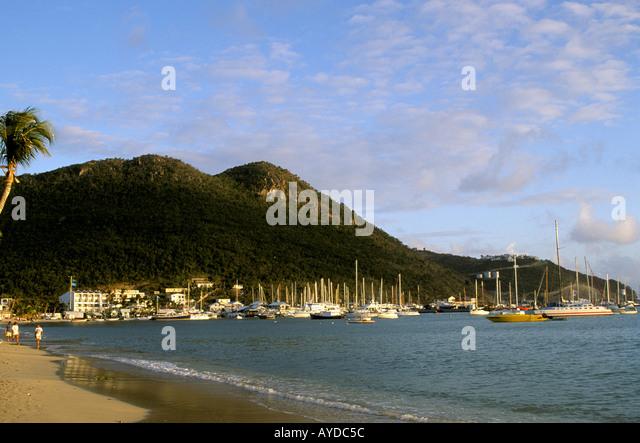 St Maarten Great Bay - Stock Image