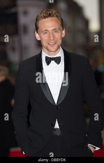 Tom Hiddleston Attends Olivier Awards 2013 In London on the 28th April 2013 at The Royal Opera House. - Stock-Bilder