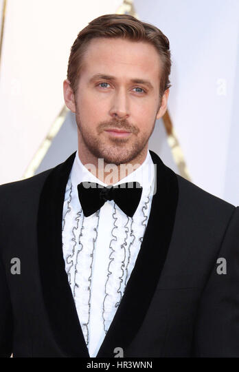 February 26, 2017 - Hollywood, CA -  Ryan Gosling. 89th Annual Academy Awards presented by the Academy of Motion - Stock Image