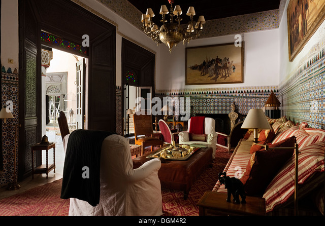 Moroccan tiles pattern stock photos moroccan tiles for Well known interior designers