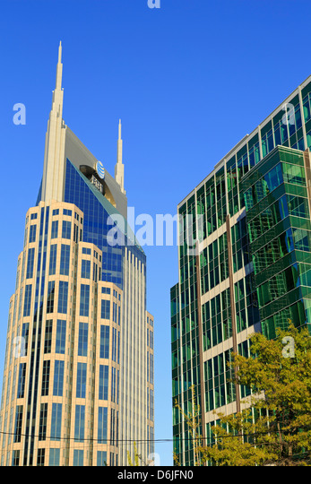 333 Commerce Tower, Nashville, Tennessee, United States of America, North America - Stock Image