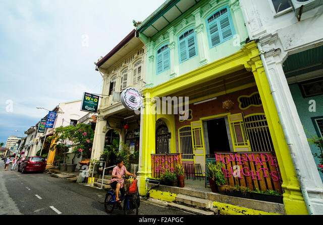 Penangs stock photos penangs stock images alamy for Terrace 9 classic penang