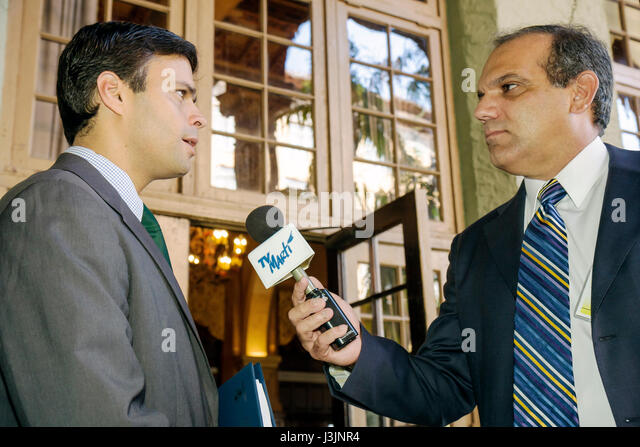 Miami Coral Gables Miami Florida Biltmore Hotel Americas Conference Western Hemisphere leaders leadership economic - Stock Image